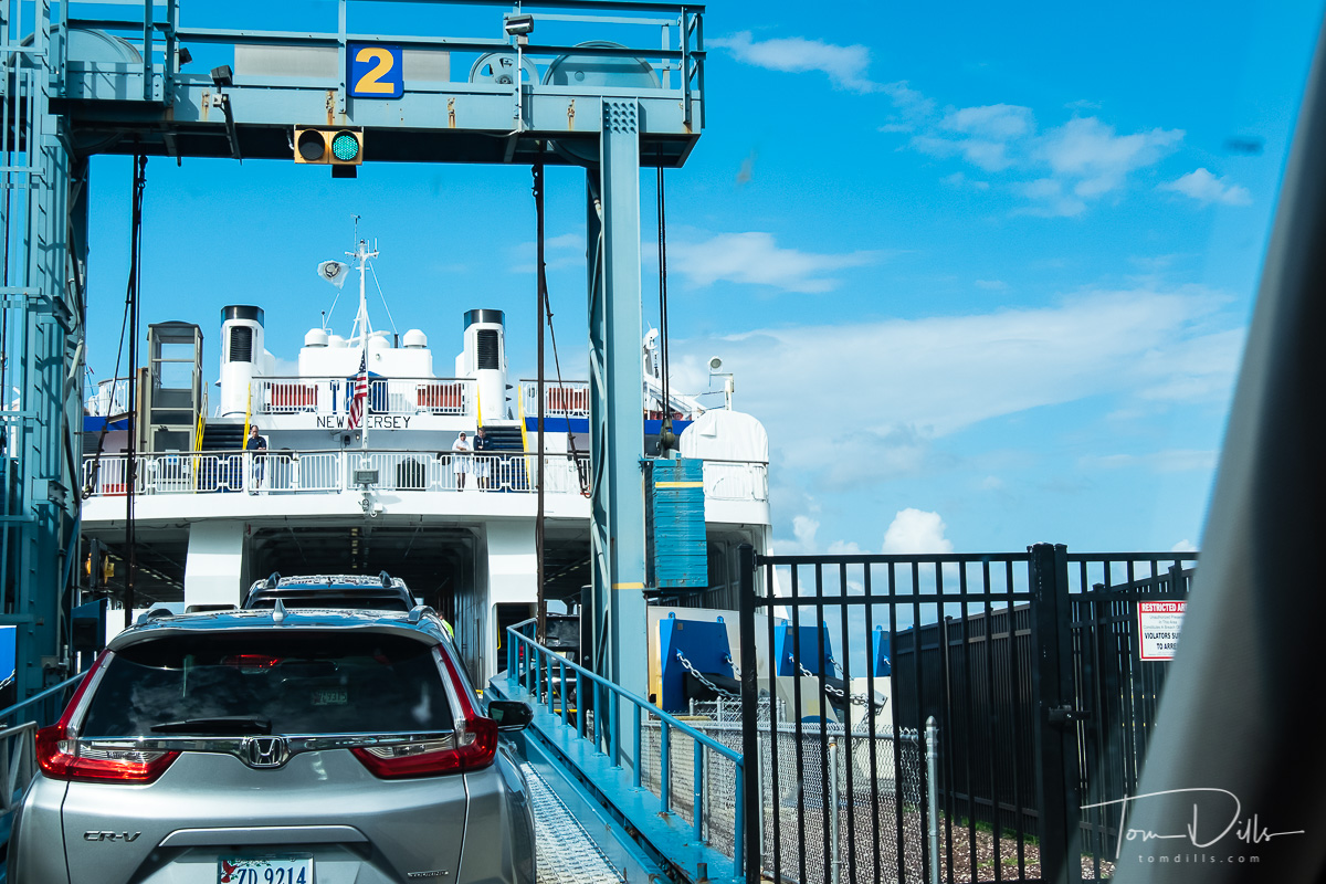 Ferry from Lewes, Delaware to Cape May, New Jersey