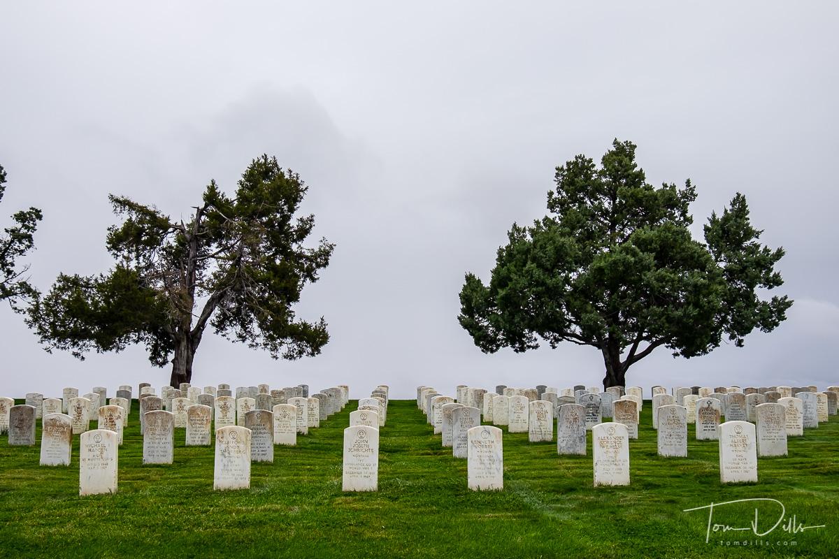 Custer National Battlefield at Little Bighorn Battlefield National Monument, Montana