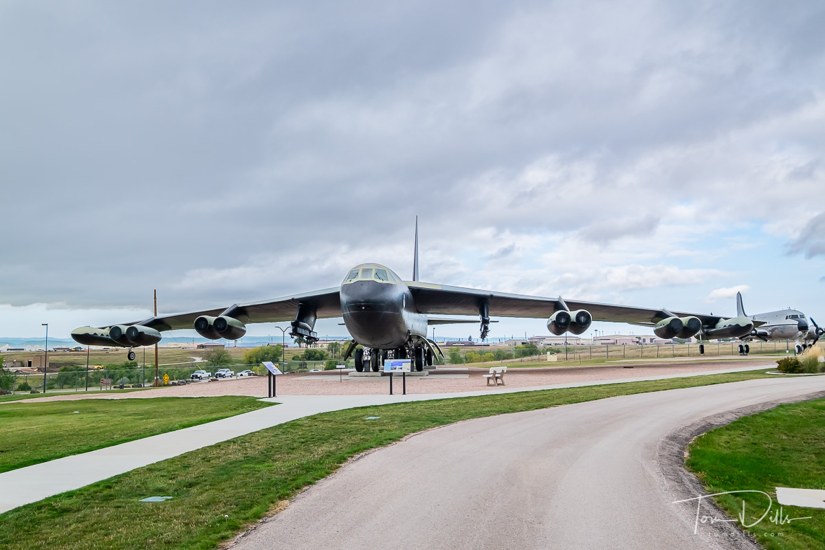 B-52D Stratofortress at the South Dakota Air & Space Museum, Ellsworth Air Force Base, South Dakota