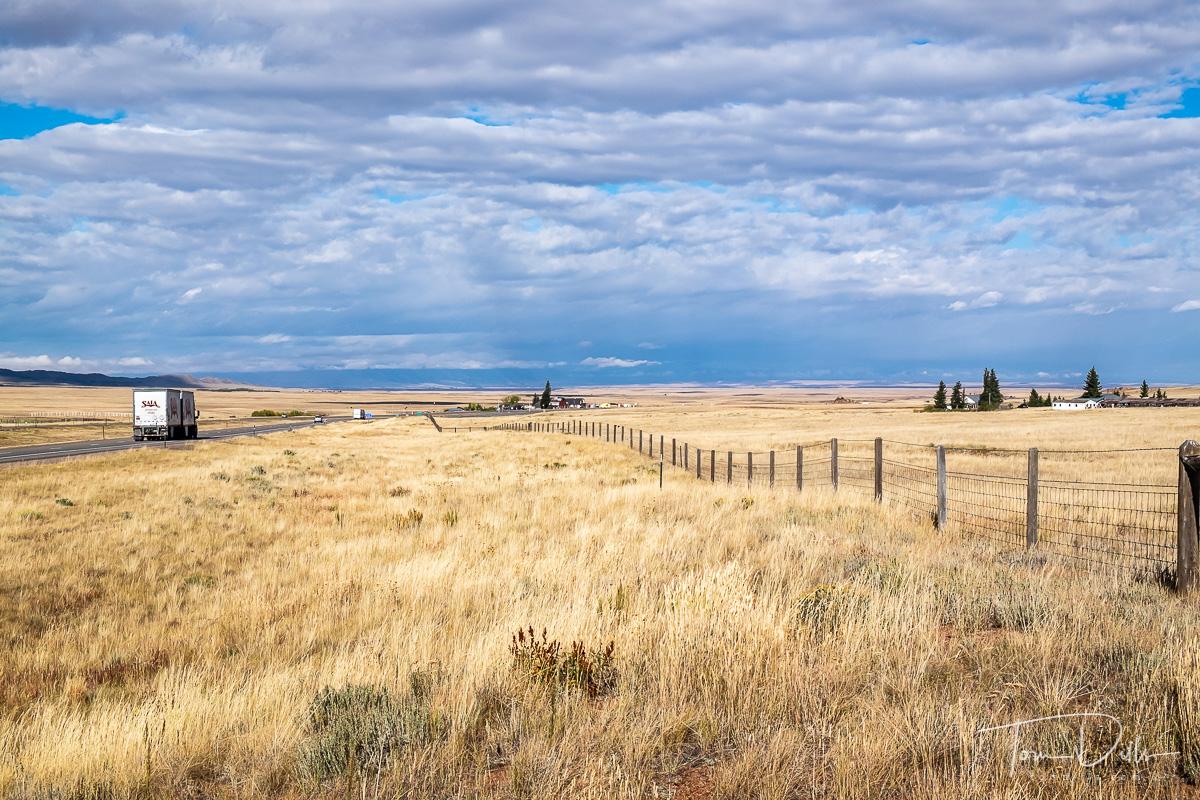 US-287 south of Laramie, Wyoming