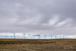 Seven Mile Wind Farm near Medicine Bow, Wyoming