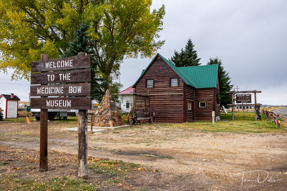 Medicine Bow Museum and Train Station, Medicine Bow, Wyoming
