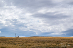 Wind farm along US-487 south of Casper, Wyoming