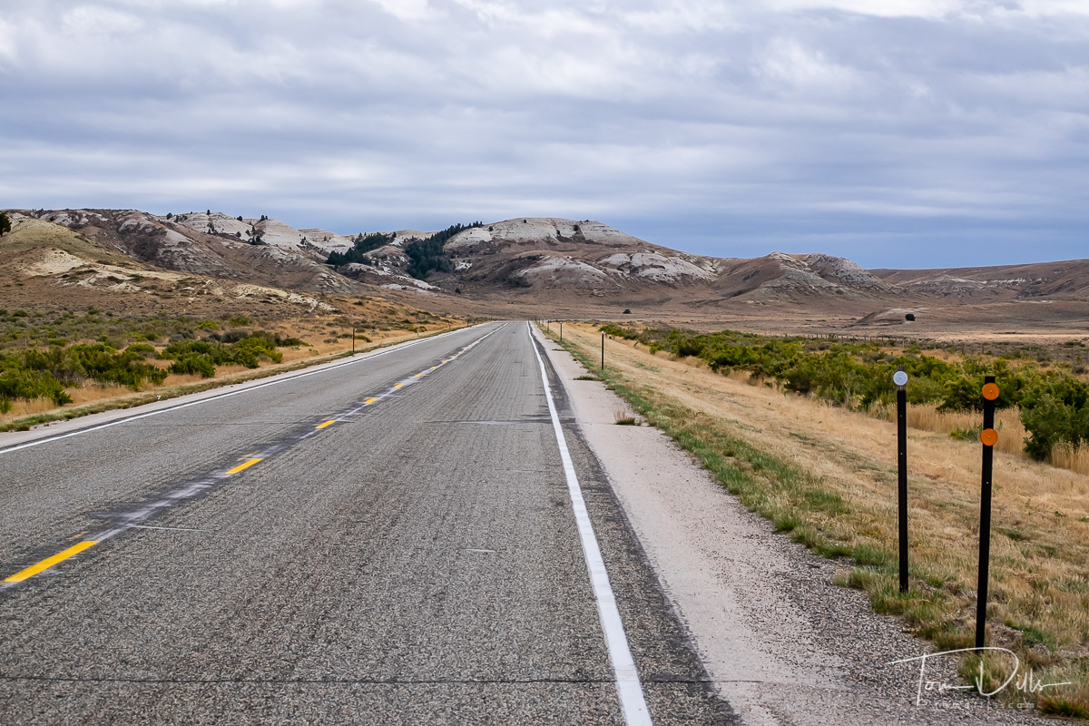 US-487 south of Casper, Wyoming
