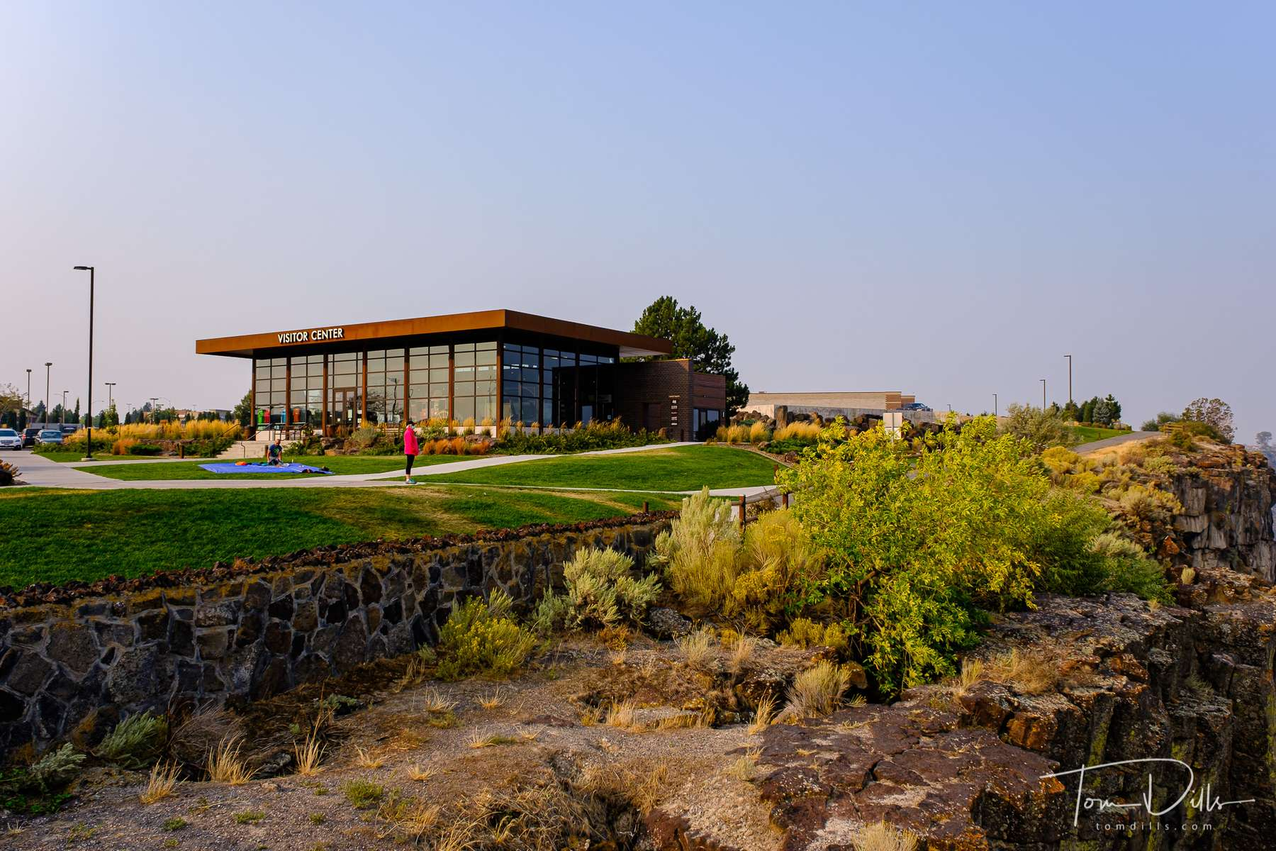 Snake River Visitor Center near the Perrine Memorial Bridge over the Snake River in Twin Falls, Idaho