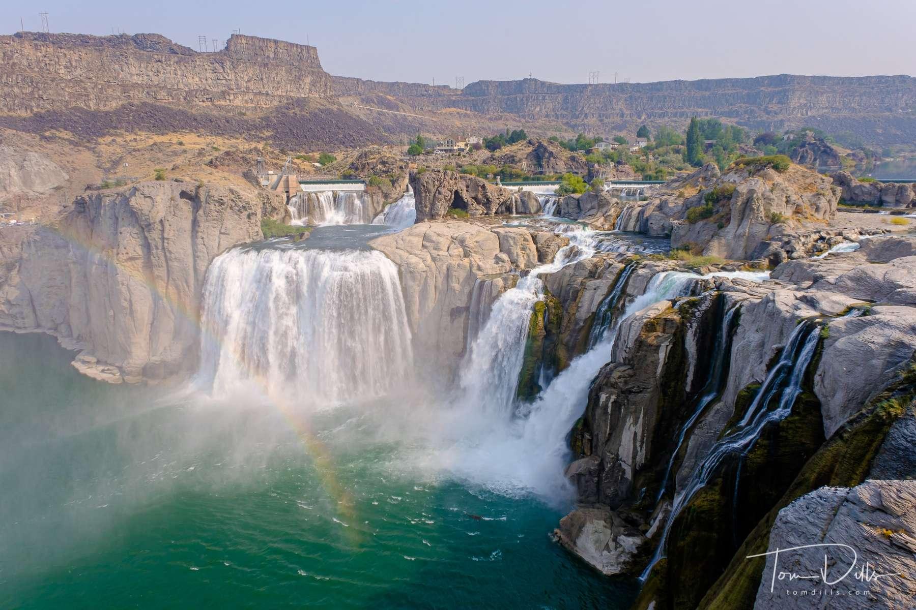 Shoshone Falls on the Snake River near Twin Falls, Idaho
