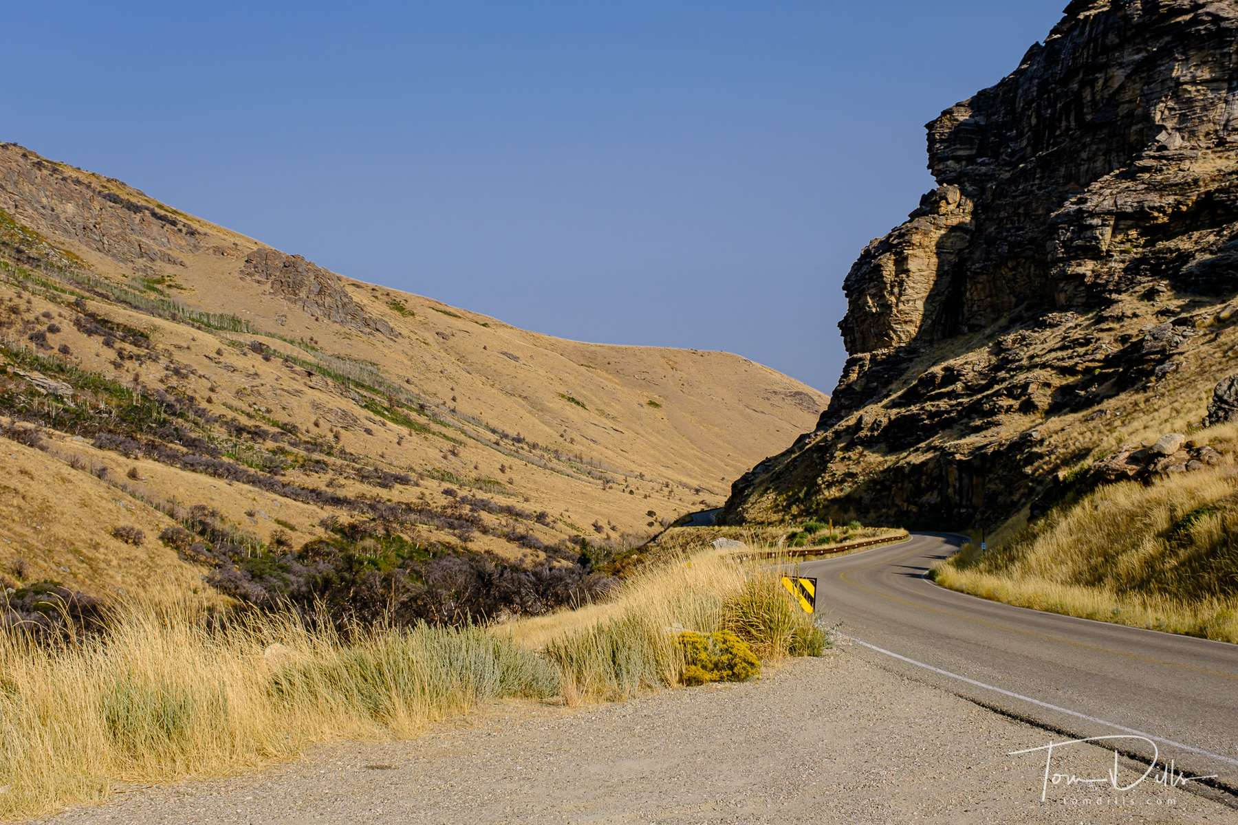 Lamoille Canyon Scenic Byway, part of the Humboldt-Toiyabe National Forest in eastern Nevada near Elko