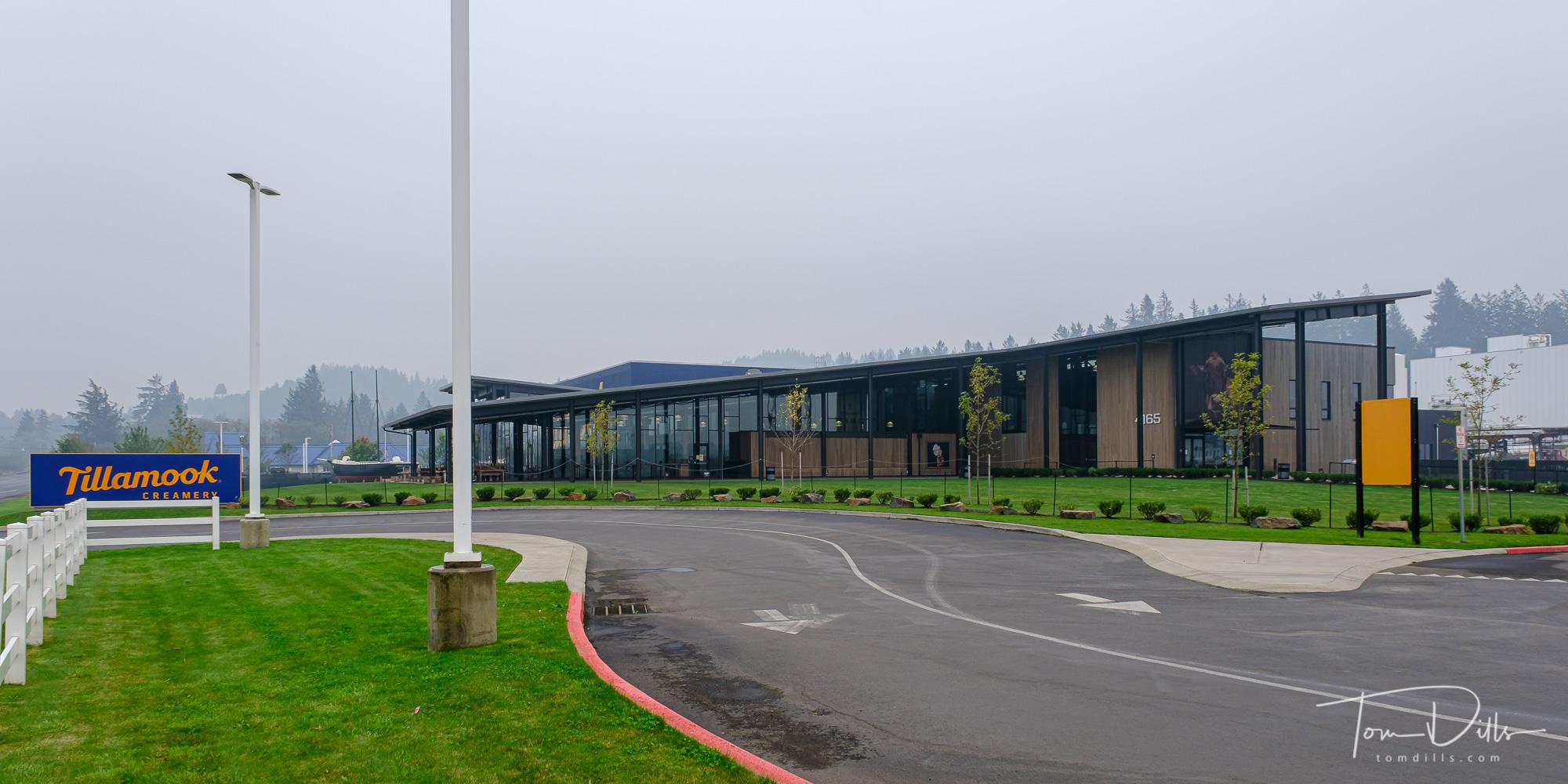 Tillamook Cheese Visitor Center (closed) in Tillamook, Oregon