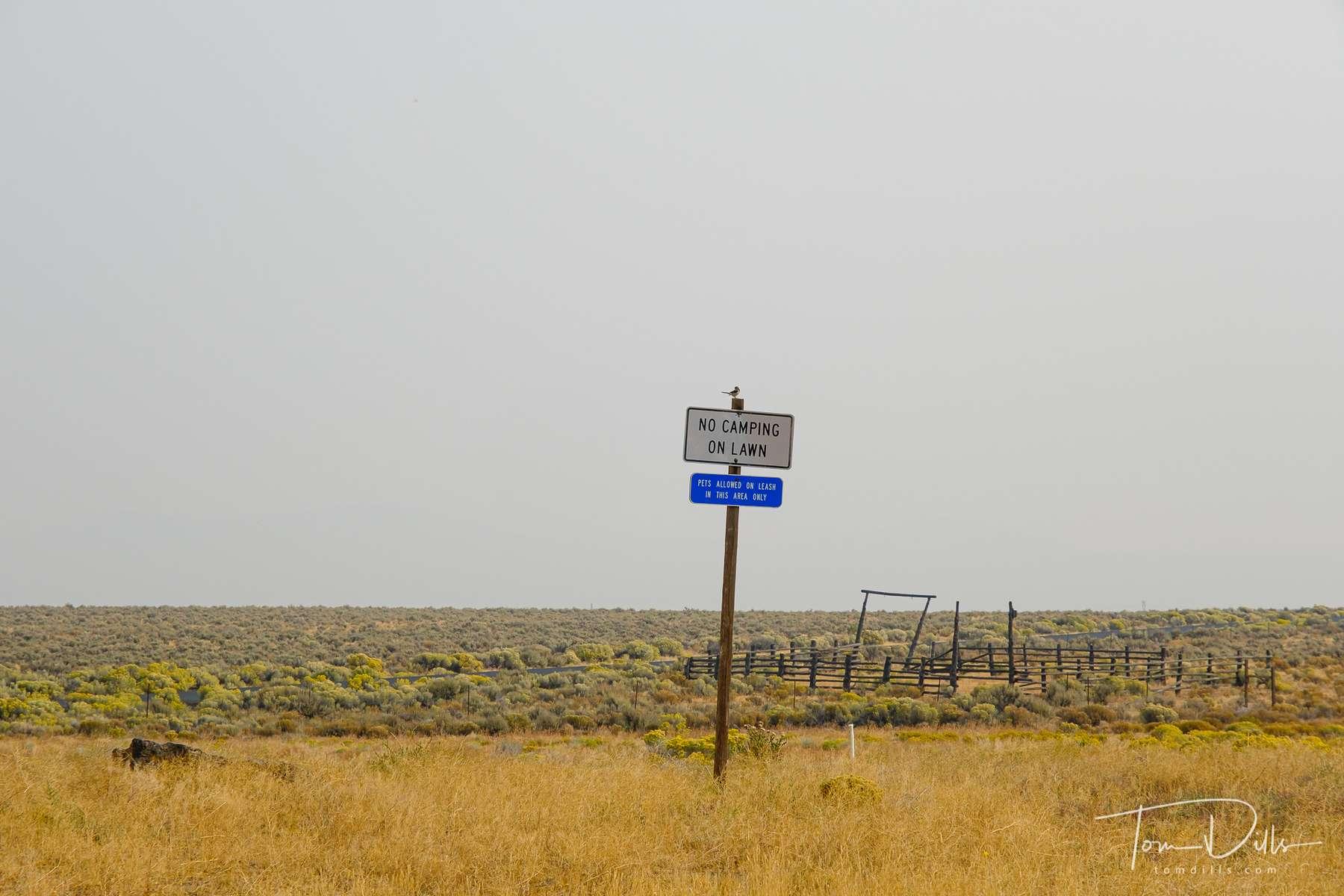 Scenery along US-20 near Brothers, Oregon