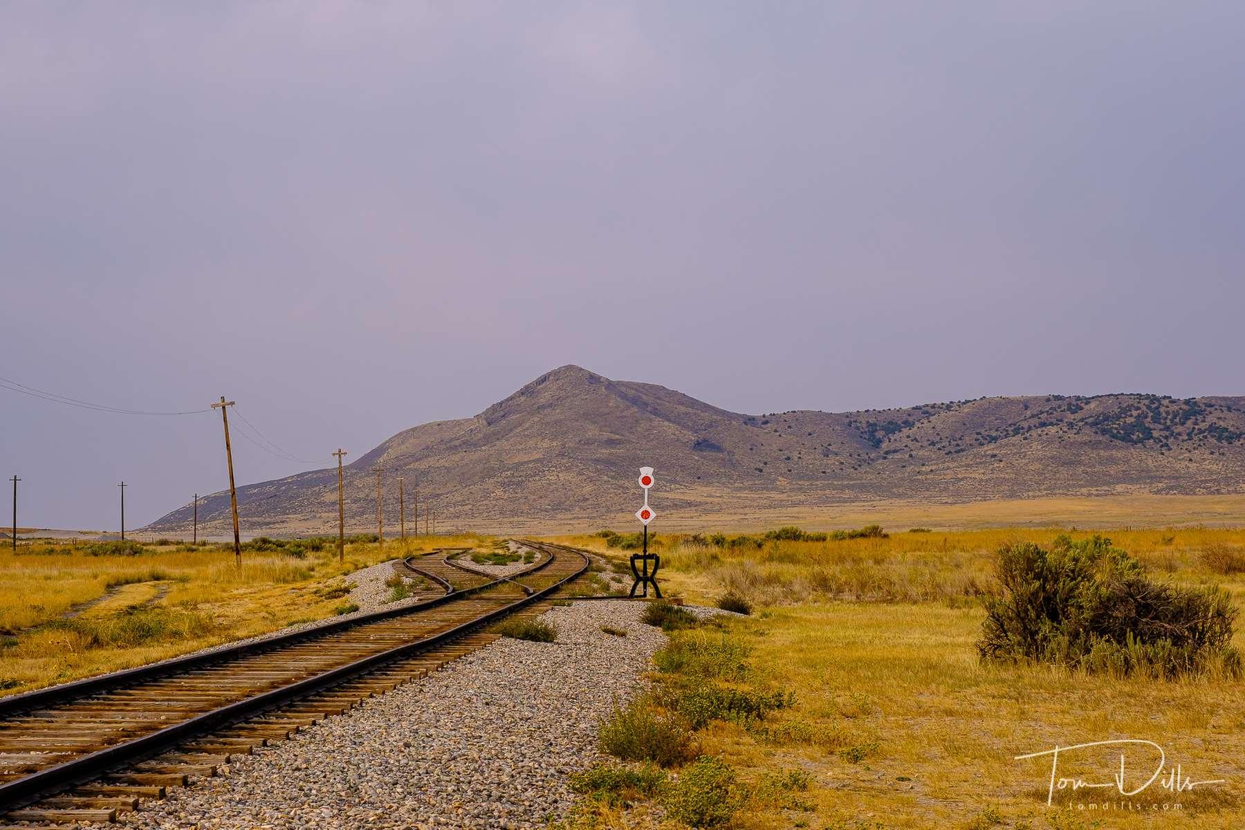 Golden Spike National Historical Park near Corinne, Utah