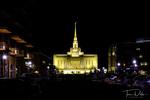 Ogden Utah Temple of JCLDS in downtown Ogden, Utah