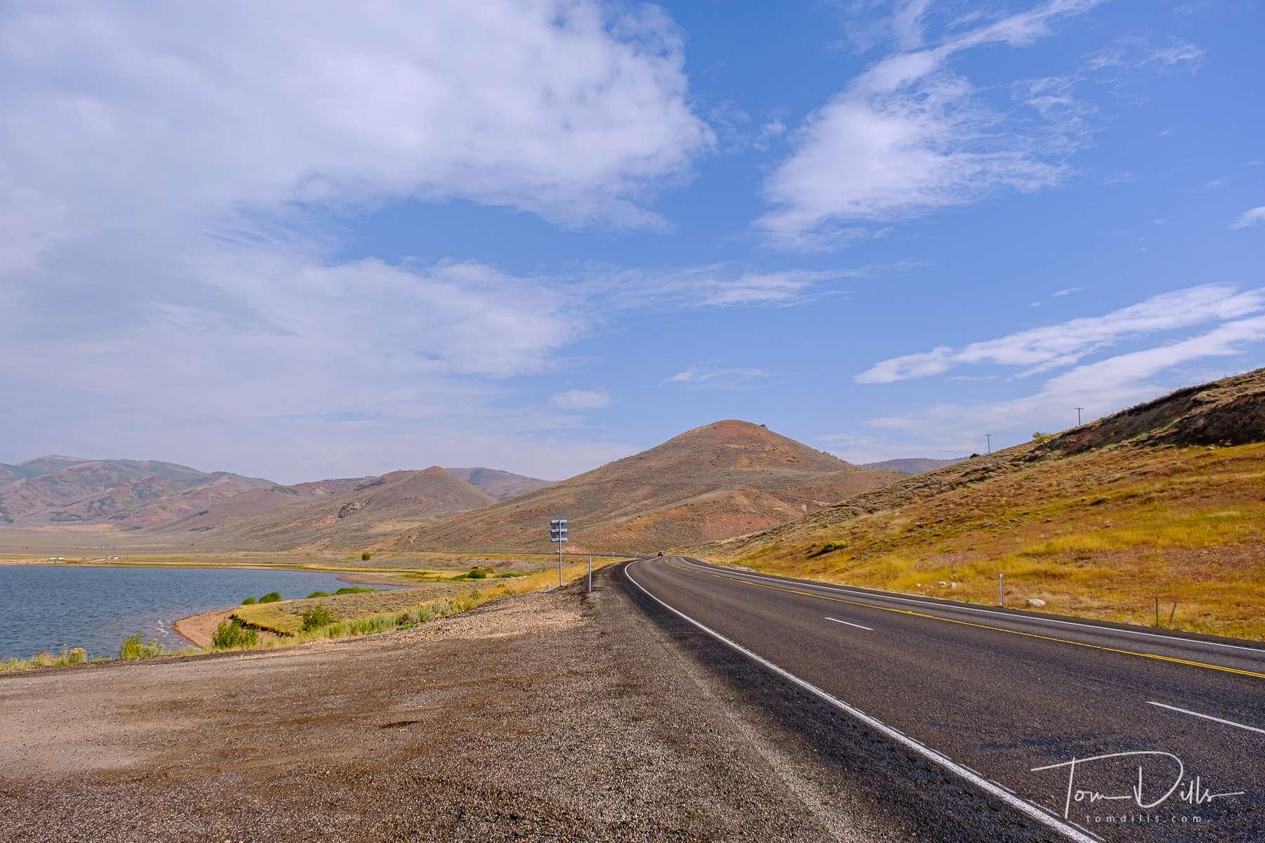 Strawberry Reservoir along US 40 near West Portal, Utah