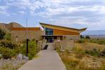 Quarry Visitor Center at Dinosaur National Monument near Jensen, Utah