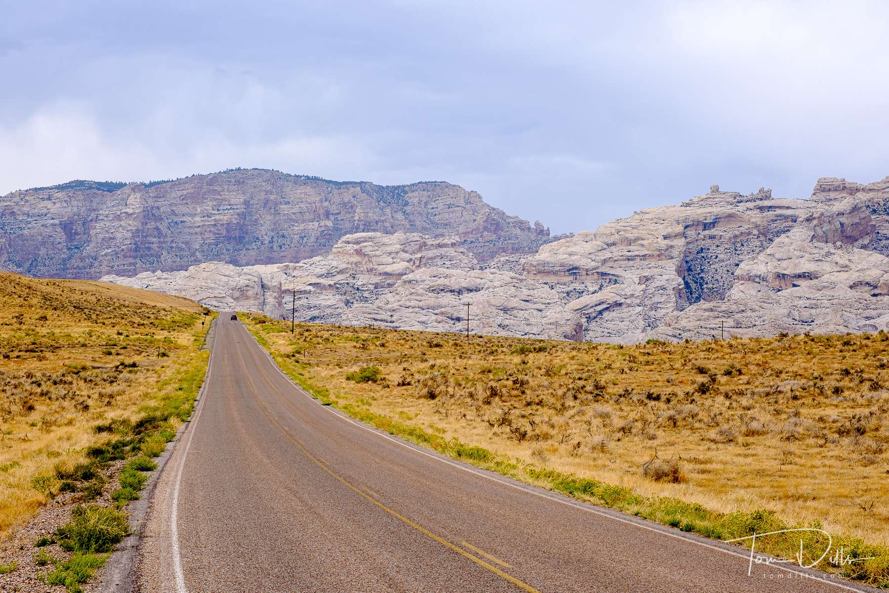 Scenic views from Cub Creek Road in Dinosaur National Monument