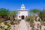 Chapel at San Xavier del Bac Mission in Tucson, Arizona