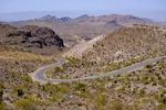 Scenery along Oatman Highway between Oatman and Kingman, Arizona