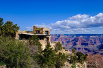Views from Grand Canyon Village near the El Tovar Hotel, Grand Canyon National Park, Arizona