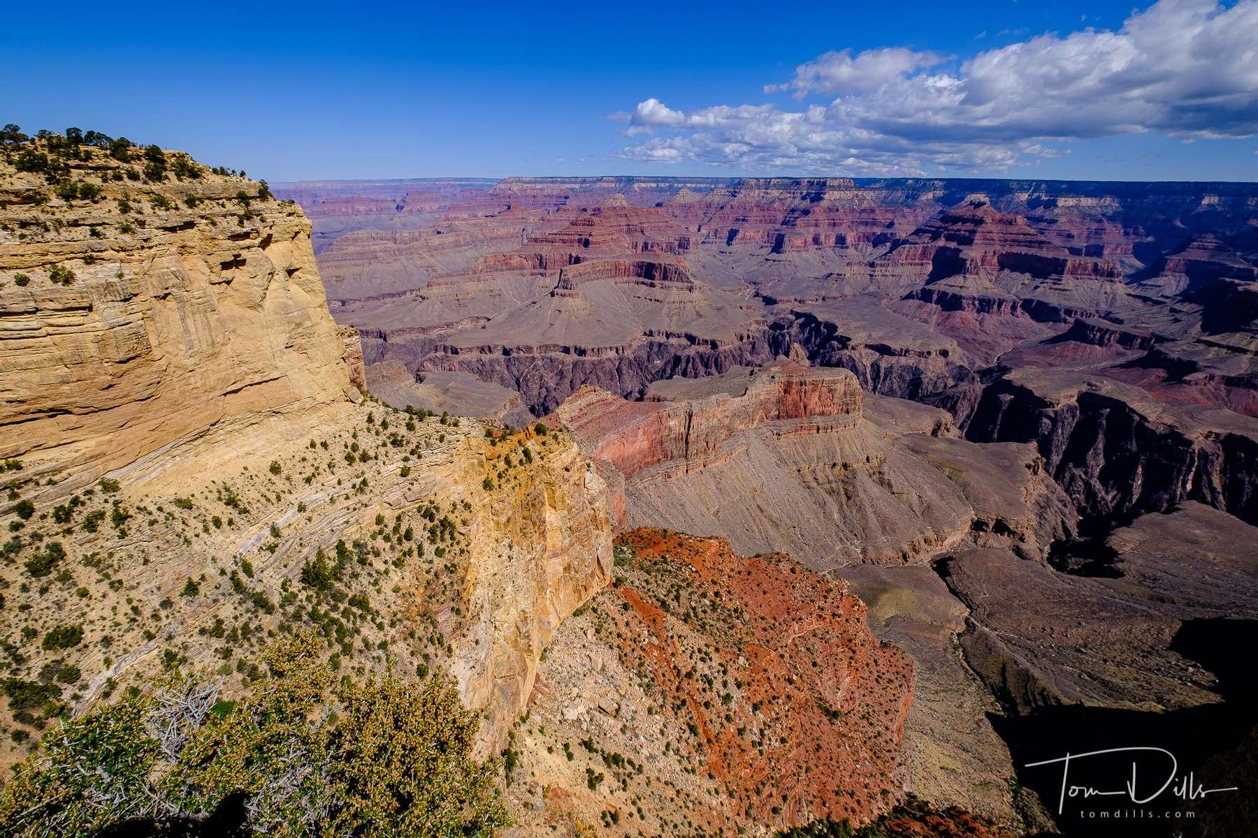 Views from Maricopa Point Overlook, Grand Canyon National Park, Arizona