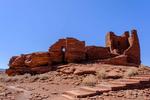 Wukoki Pueblo at Wupatki National Monument in Arizona