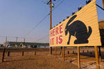 The Jackrabbit Trading Post on Historic Route 66 near Joseph City, Arizona