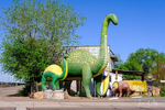 The Rainbow Rock Shop on Historic Route 66 in Holbrook, Arizona