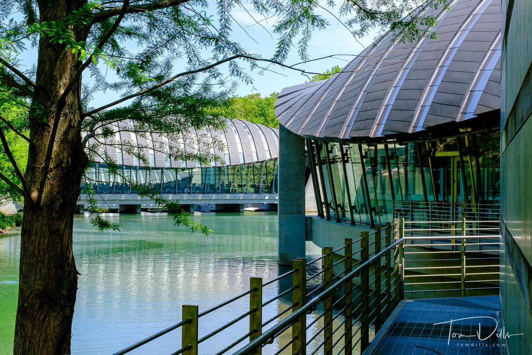 The Crystal Bridges Museum of American Art in Bentonville, Arkansas