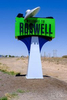 {quote}Welcome to Roswell{quote} sign.  Roswell, New Mexico