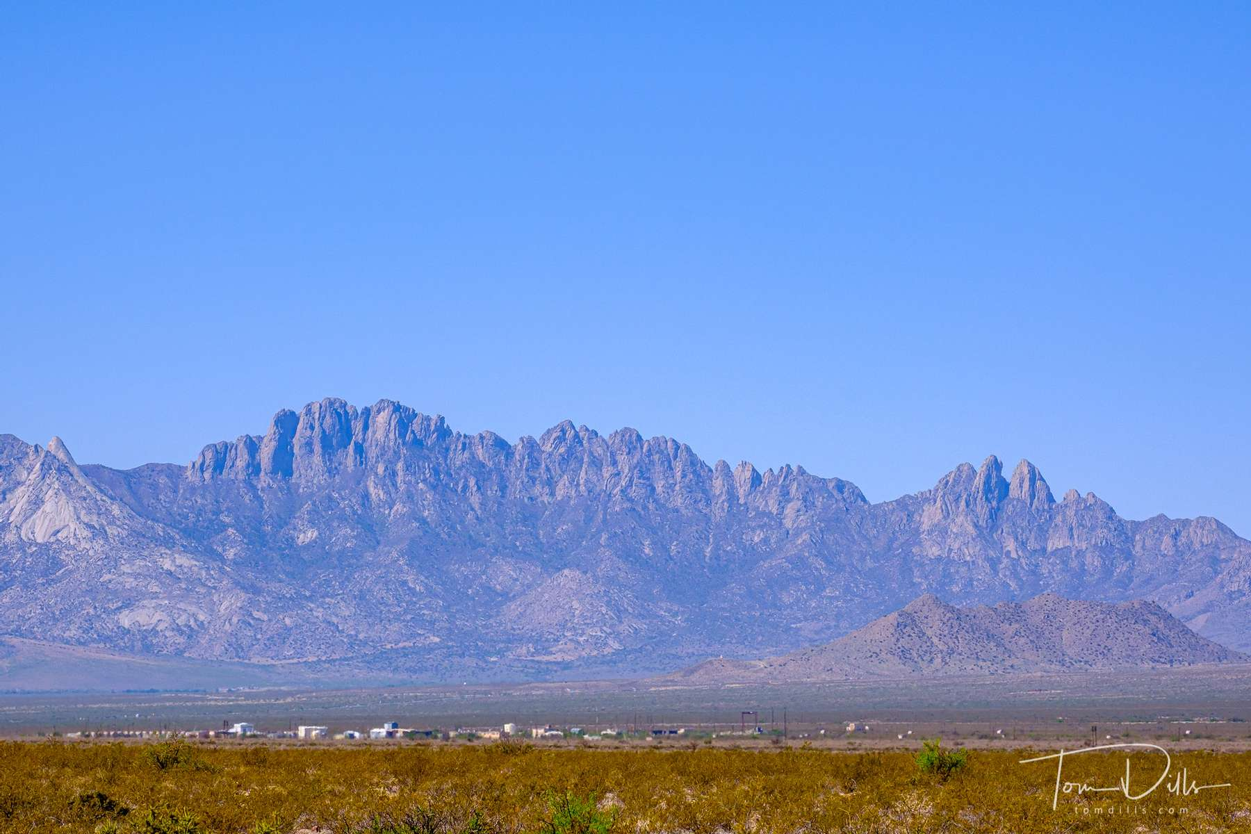 Scenery along US-70 approaching Las Cruces, New Mexico