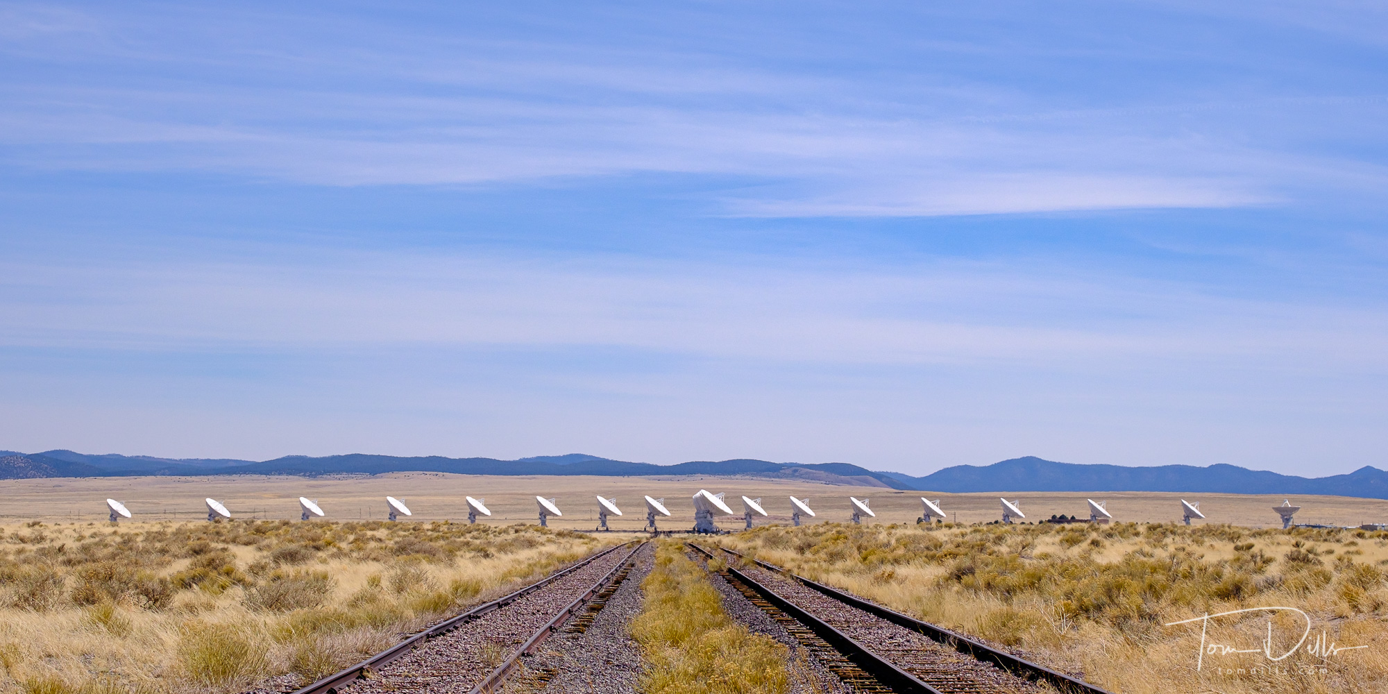 The Very Large Array at the National Radio Astronomy Observatory near Socorro, New Mexico