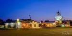 The Motel Safari on Historic Route 66 in Tucumcari, New Mexico