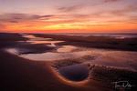 Sunrise on the beach on Hilton Head Island, South Carolina