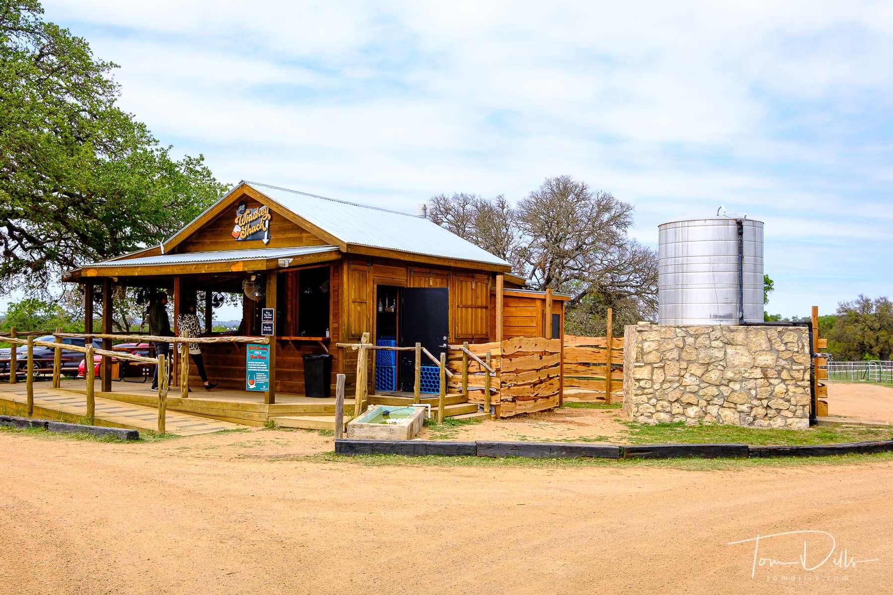 Garrison Brothers Distillery in Hye, Texas