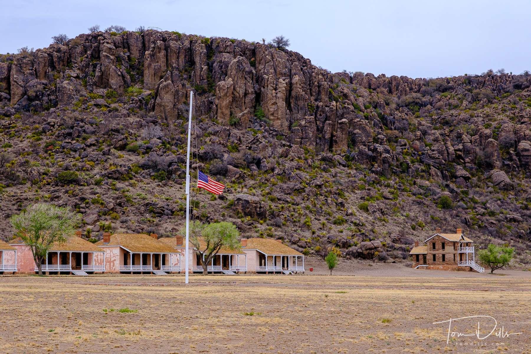 Fort Davis National Historic Site in Fort Davis, Texas