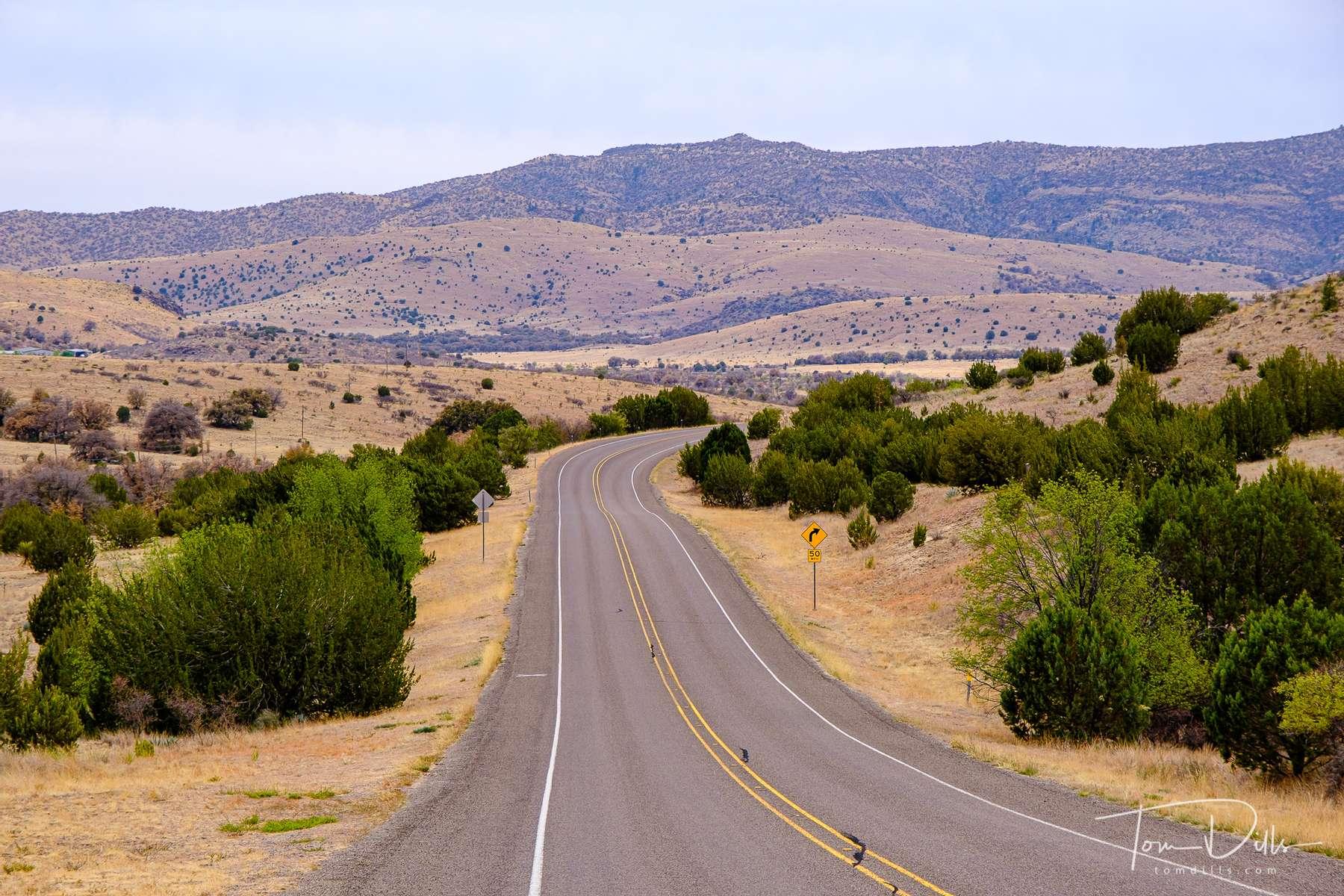 Scenery along SR-118 enroute to McDonald Observatory near Fort Davis, Texas
