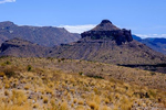 Views from the Sotol Vista Overlook at Big Bend National Park in Texas
