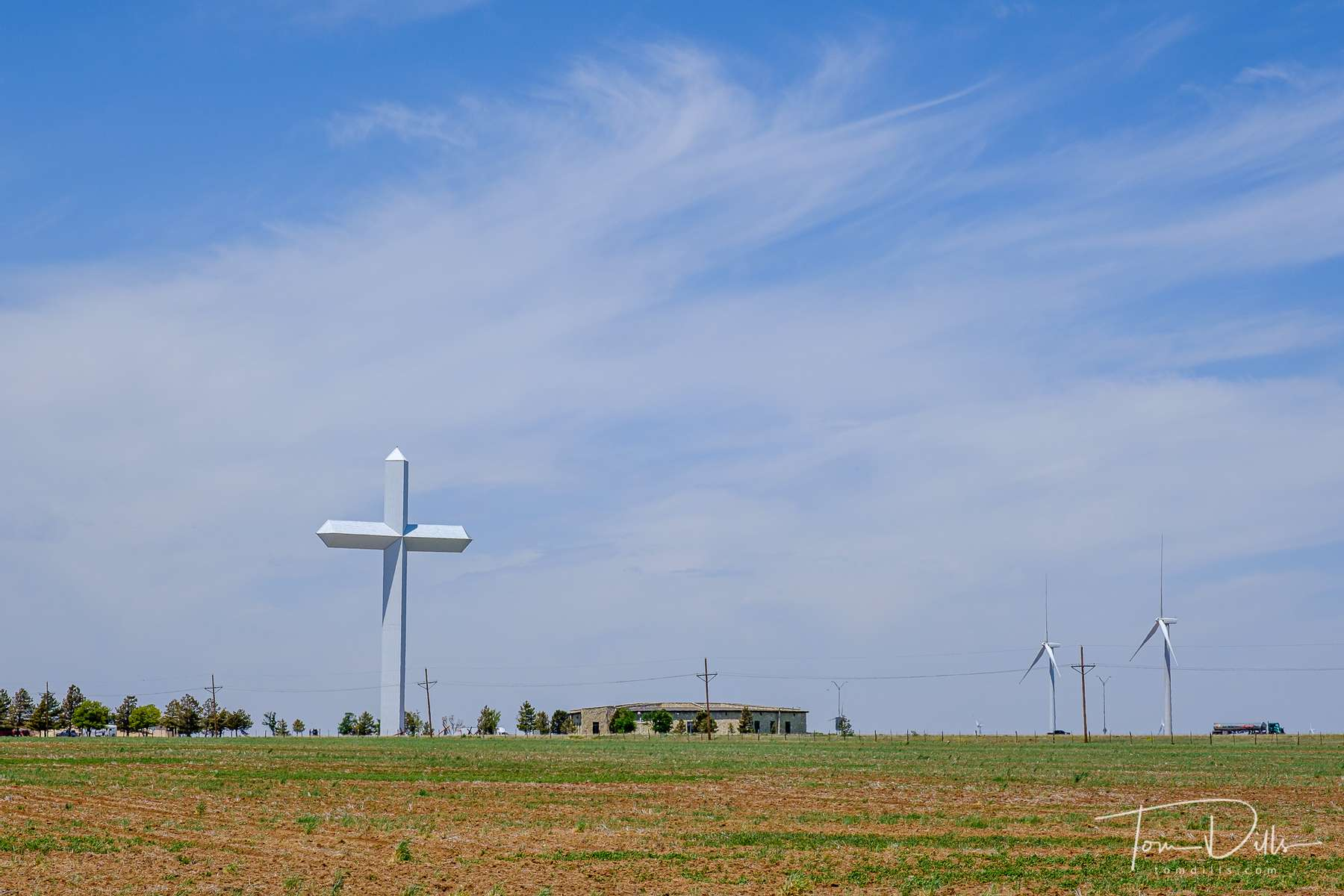 {quote}Cross of our Lord Jesus Christ Ministries{quote} near Groom, Texas