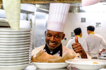 Galley tour and dinner on Celebrity Summit as part of our Chef's Market experience in Nassau, Bahamas