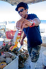 Preparing and sampling fresh conch and conch salad during our Chef's Market Tour shore excursion in Nassau, Bahamas