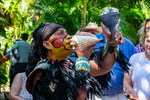 A traditional Mayan ceremony at The Mayan Cacao Company on our Island Discovery & Chocolate Experience tour in Cozumel, Mexico