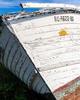 Abandoned boat on Stumpy Point, North Carolina
