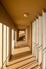 Hallway shadows - Palmetto Dunes Oceanfront Resort, Hilton Head Island, South Carolina