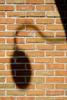 Shadows on a wall in Lake Geneva, Wisconsin