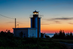 point prim lighthouse, digby, nova scotia