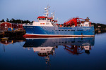 the 'atlantic guardian' scallop trawler, lunenburg, nova scotia