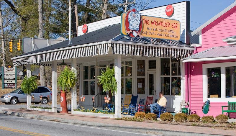 The Wrinkled Egg shops