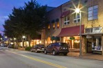 Downtown Waynesville at Night