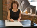 Teresa Pennington, artist and owner of T Pennington Gallery