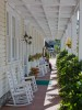 Front porch of The Highlands Inn