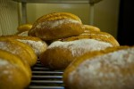 Fresh baked bread at Bracken Mountain Bakery