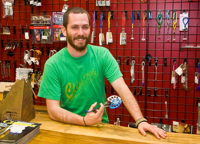 Marcus Webb, owner of Looking Glass Outfitters